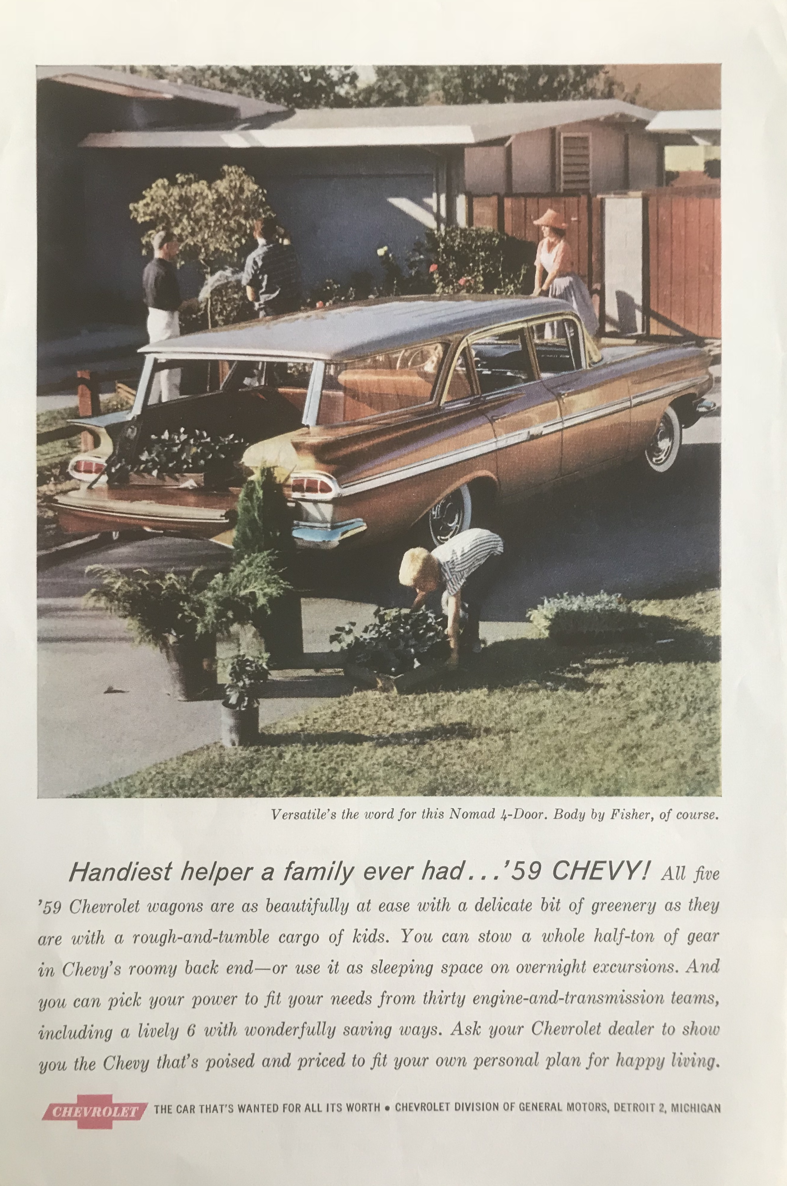 1959 Chevrolet Nomad 4-Door