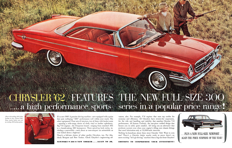 1962 Chrysler 300 - published in 1961