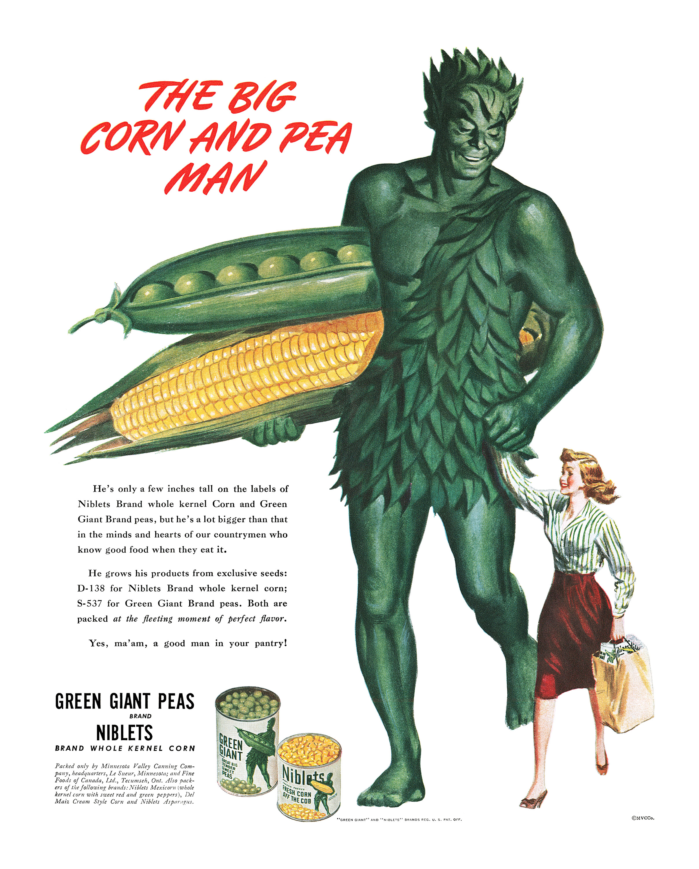 Minnesota Valley Canning Company Green Giant - 1945