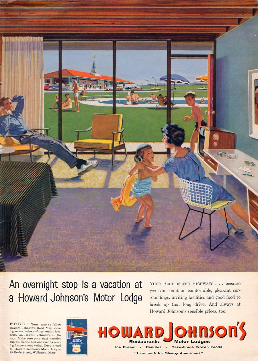Howard Johnson's - published in Sports Illustrated - April 27, 1959
