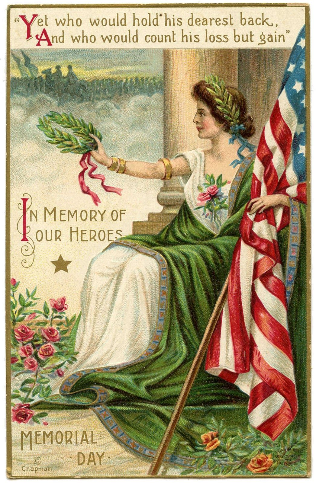 Memorial Day postcard - date unknown