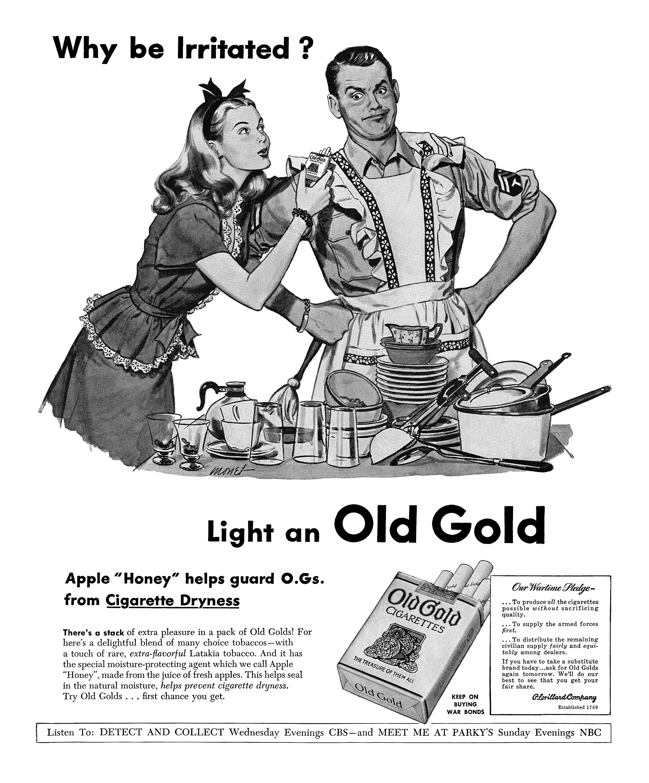 Old Gold Cigarettes - 1945