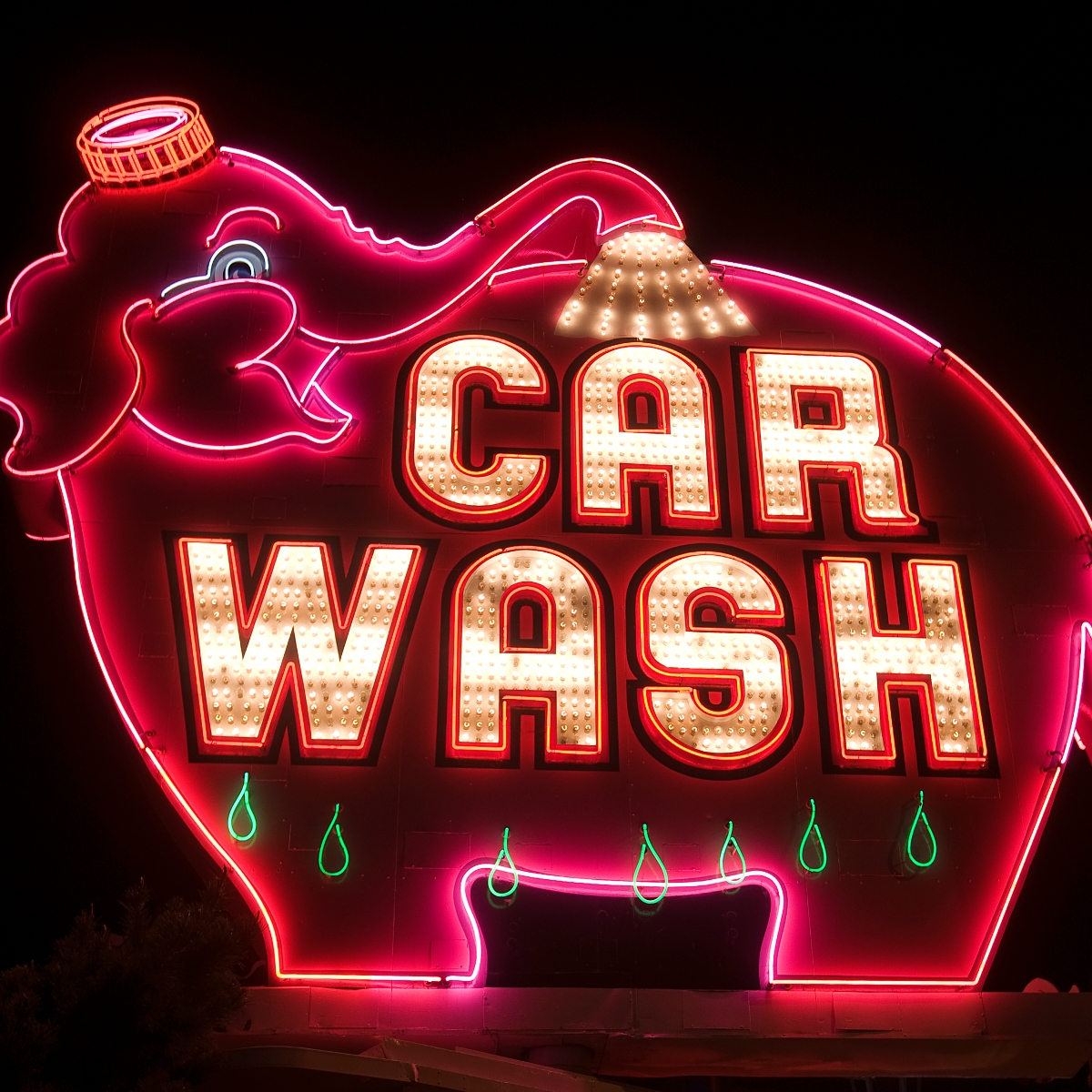 Elephant Super Car Wash Of Downtown Seattle