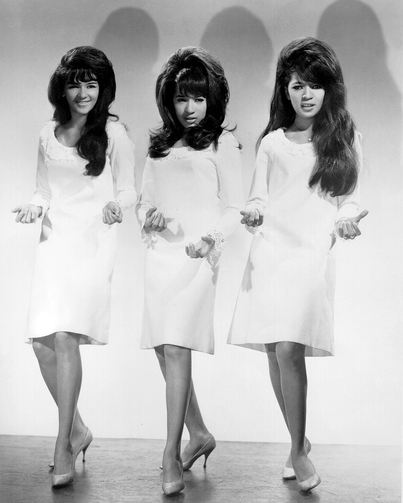 The Ronettes - New York City, New York U.S.A. - August 1963 - Photographer: James Kriegsmann